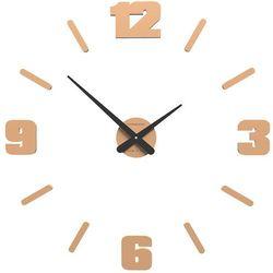 Zegar ścienny Michelangelo CalleaDesign jasnobrzoskwiniowy, kolor różowy