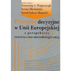 Procesy decyzyjne w Unii Europejskiej z perspektywy teoretyczno-metodologicznej., pozycja wydawnicza