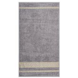 Night in Colour Ręcznik kąpielowy Ateny szary, 70 x 140 cm, 70 x 140 cm z kategorii Ręczniki