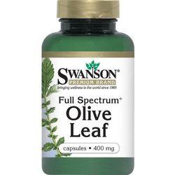 Full spectrum olive leaf 400mg 60kaps, marki Swanson