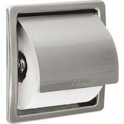 Uchwyt na papier toaletowy wnękowy STRATOS Franke stal szlachetna matowa