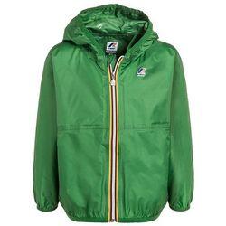 KWay CLAUDE LE VRAI 2.0 Kurtka przeciwdeszczowa green mid z kategorii kurtki dla dzieci