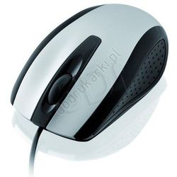 Mysz i-BOX FINCH optyczna przewodowa USB srebrna