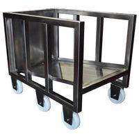 Wózek na kije wędzarnicze, wymiary 595x905x745mm, CNS