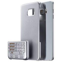 Etui SAMSUNG z klawiaturą do Galaxy S6 Edge Plus QWERTY Srebrna EJ-CG928BSEGWW EJ-CG928BSEGWW - Natychmiastowa wysyłka kurierska!, kolor szary