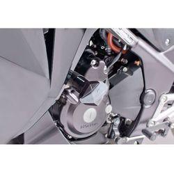 Crash pady PUIG do Honda CBR250R (czarne) z kategorii Crash pady motocyklowe