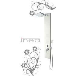 Inea Panel prysznicowy biały in-8708w