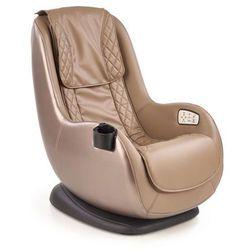 Fotel Dopio beżowy z funkcją masażu kolor beżowy