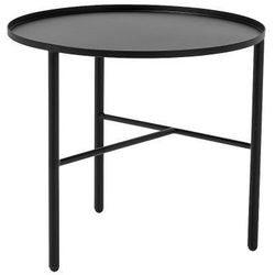 Bloomingville Pretty metalowy stolik kawowy s, czarny -