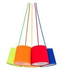Żyrandol na drutu artos colour 5xe27/60w/230v marki Tk lighting