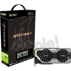 Palit GTX1080 JetStream 8GB DDR5 256 BIT DARMOWA DOSTAWA DO 400 SALONÓW !! - produkt z kategorii- Karty grafi