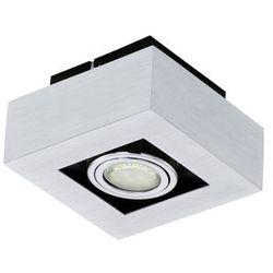 Plafon LAMPA sufitowa LOKE 1 91352 Eglo natynkowa OPRAWA metalowa IP20 kwadrat chrom - sprawdź w wybranym skl
