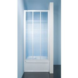 SANPLAST drzwi Classic 110-120 przesuwne, polistyren DTr-c-110-120 600-013-1851-01-520 (drzwi prysznicowe)