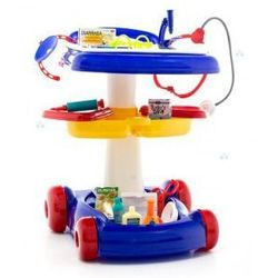 DOKTOR NA KÓŁKACH Z AKCESORIAMI #D1 - produkt z kategorii- Pozostałe zabawki AGD