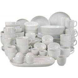 atelier serwis obiadowo - kawowy 80el biały marki Creatable