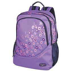 Plecak szkolno-sportowy Venturio fioletowy (5901180361378)