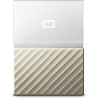 Western Digital My Passport Ultra Wi-Fi 2000GB Złoto, Biały zewnętrzny dysk twarde