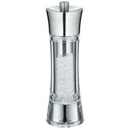 Zassenhaus młynek do soli, śred. 5,8x18 cm, stalowo-akrylowy, ZS-035315 (10960929)
