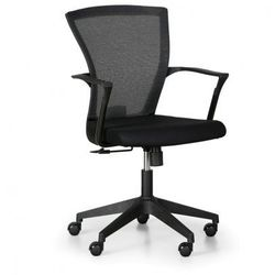 Fotel biurowy bret, czarny marki B2b partner