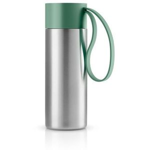 Eva solo Stalowy kubek termiczny to go cup, granite green -