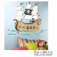 ROOMMATES Naklejki wielokrotnego użytku Statek piratów, kup u jednego z partnerów