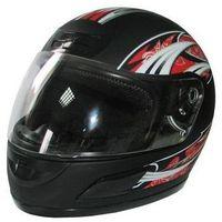Kask motocyklowy MOTORQ Torq-i5 Integralny (Rozmiar M) Czarny + Zamów z DOSTAWĄ JUTRO!