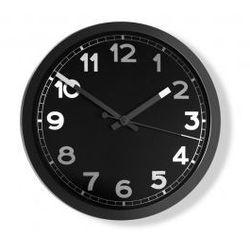 Czerwona papryczka design Zegar ścienny nero