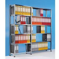 Unbekannt Regał wtykowy na segregatory i archiwum, ocynkowany, wys. 2280 mm, jednostronne,