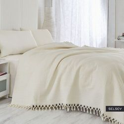 SELSEY Narzuta Singiel 220x240 cm kremowa (5903025240107)