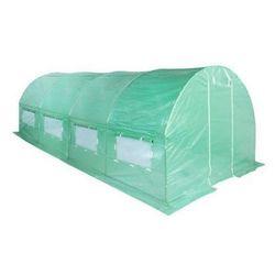 H&g Tunel ogrodowy foliowy zielony 300x600 cm 18 m2 (5902425320310)