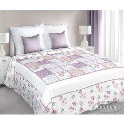 Narzuta patchworkowa ALLYSA 220x240 Eurofirany różowa