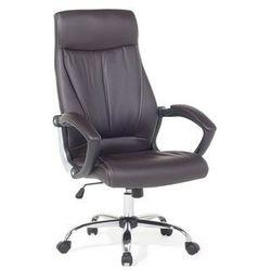 Beliani Krzesło biurowe brązowe - meble biurowe - fotel komputerowy - champion (7105271480209)
