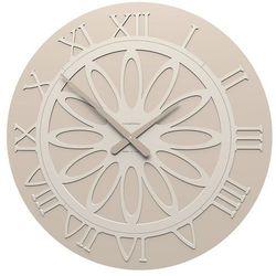 Zegar ścienny athena  piaskowy marki Calleadesign