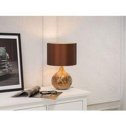 Nowoczesna lampka nocna - lampa stojąca w kolorze brązowym - YAKIMA