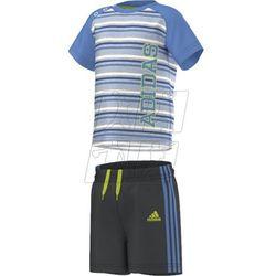 Komplet  boys summer set k s17159, marki Adidas