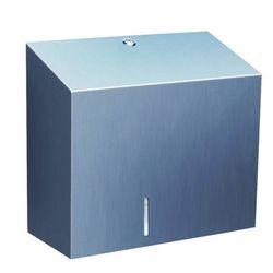 Pojemnik na papier toaletowy Merida Stella Maxi, stal matowa