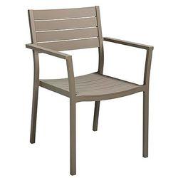 Krzesło ogrodowe cappuccino COLLINS - sprawdź w wybranym sklepie