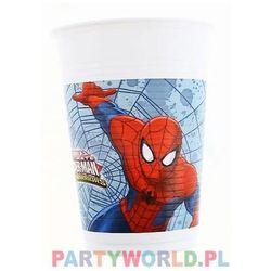 Kubeczki urodzinowe Ultimate Spiderman Web Warriors - 200 ml - 8 szt. (5201184851531)