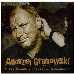 Universal music Andrzej grabowski - mam prawo... czasami... banalnie (digipack)