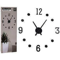 Zegar ścienny czarny, HX9000160