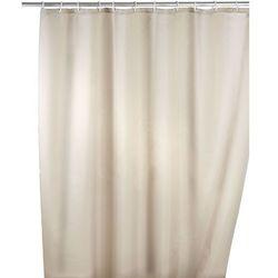 Zasłona prysznicowa, tekstylna, kolor beżowy, 180x200 cm, WENKO, B008MVVYQI