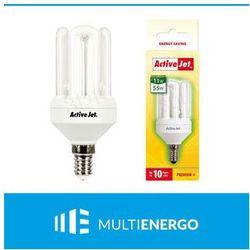 Activejet  świetlówka aje-4u11se14p e14/11w -->55w - 10000h, kategoria: świetlówki