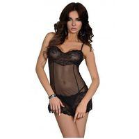 Fuksja koszulka i stringi marki Livco corsetti