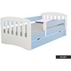 Selsey łóżeczko dziecięce pamma niebieskie