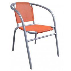 Happy green stalowe krzesło - pomarańczowe (8591022327210)