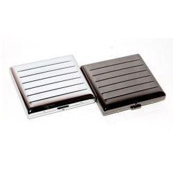 Papierośnica metalowa 57012 - produkt z kategorii- Papierośnice i pudełka na cygara