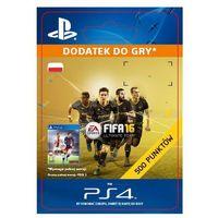 Sony Fifa 16 500 punktów [kod aktywacyjny] (0000006200066)