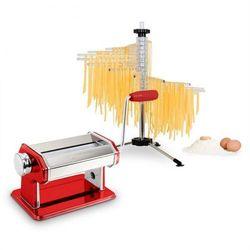 Klarstein pasta siena pasta maker zestawdo robienia makaronu czerwony & verona pasta suszarka do makaronu