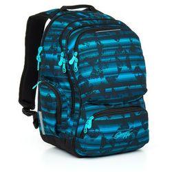 Plecak młodzieżowy  hit 864 d - blue wyprodukowany przez Topgal