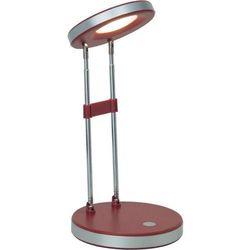 Lampa stołowa Brilliant Venedig G92926/01, LED wbudowany na stałe x 1, 3.3 W, 230 V, (ØxW) 12 cmx36 cm, czerwony (4004353174513)